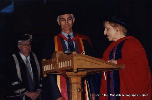Honorary Doctorate, University of B.C., 1994