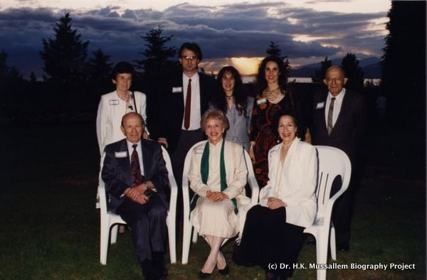 With family following Convocation, University of BC, 1994