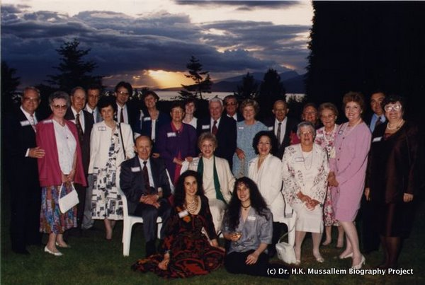 Family gathering to celebrate Convocation, University of B.C., 1994